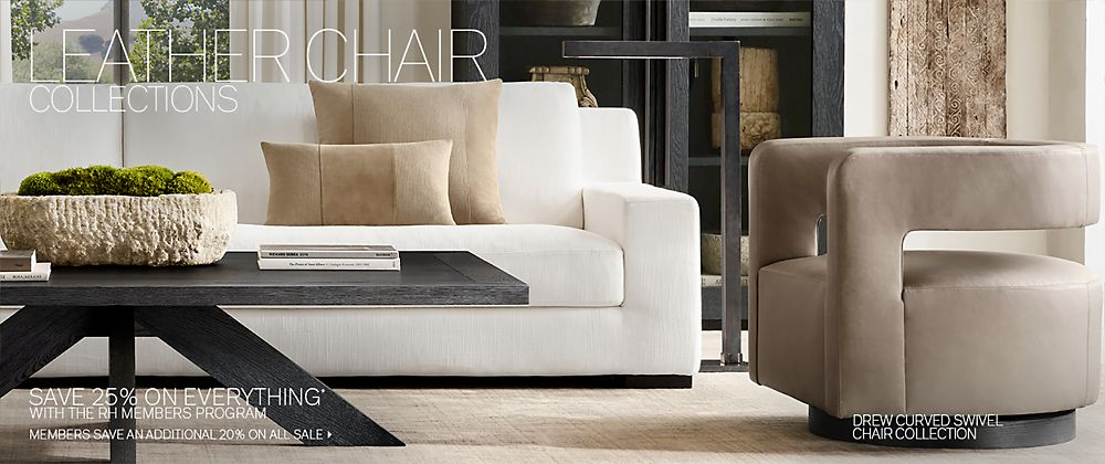 Chair Collections | RH Modern