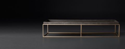 Exceptionnel Hudson Shagreen Coffee, Side U0026 Console Collection