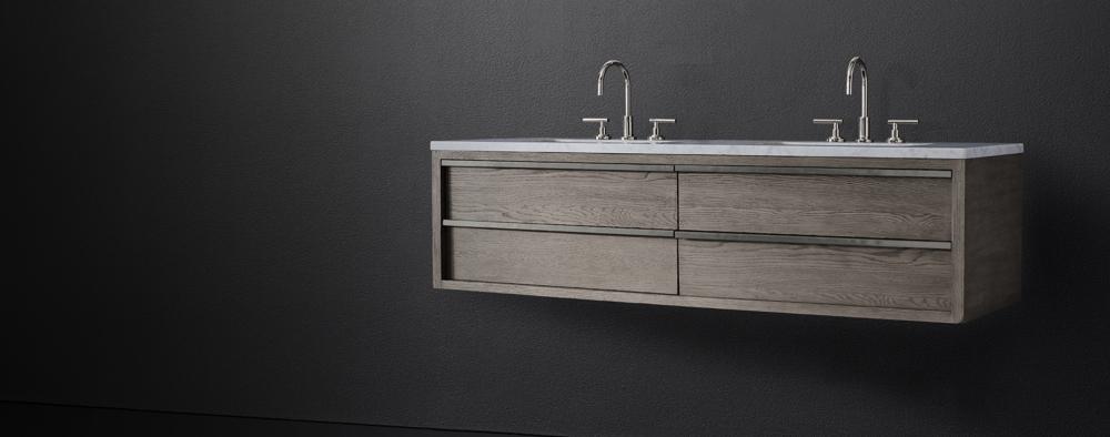Bezier Floating Vanity Bath Collection Rh Modern