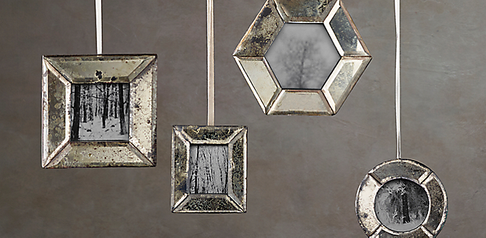 venetian frame mirror ornament collection rh
