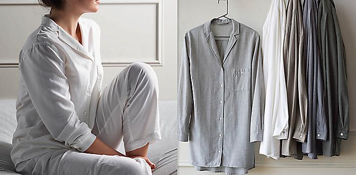 75cdeaf8b5c5 Heathered Cotton Cashmere Sleepwear