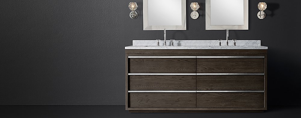 Bezier Vanity Bath Collection Rh