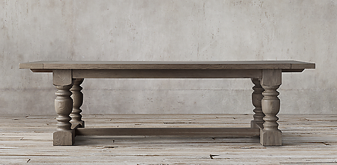 1930s French Farmhouse Collection - Rectangular Table Collections RH