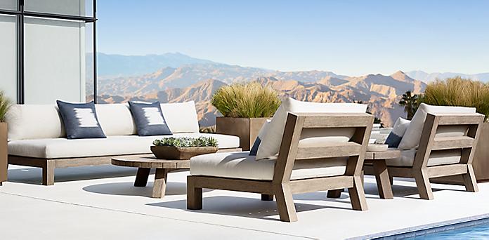 restoration hardware outdoor furniture Merida Collection | RH restoration hardware outdoor furniture