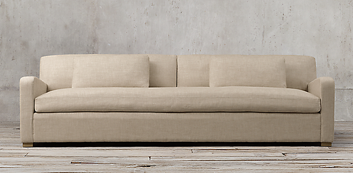 Belgian Slope Arm Upholstered Collection Rh