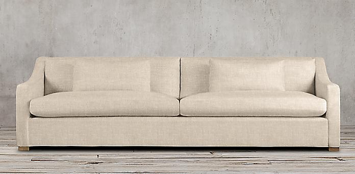Fabric Belgian Sofas Rh
