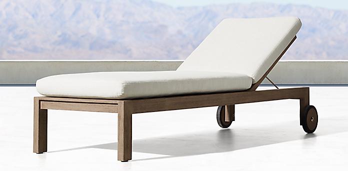 Teak Chaise Lounge Chairs chaises & lounge | rh