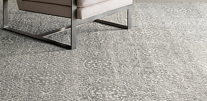 Clic Antiquity Olefin Hine Made Rug Collection Eron Bisque