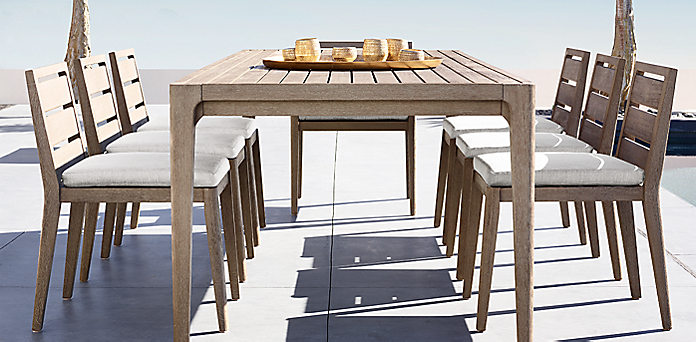 Restoration Hardware Dining Room Table   Dining Collections Rh