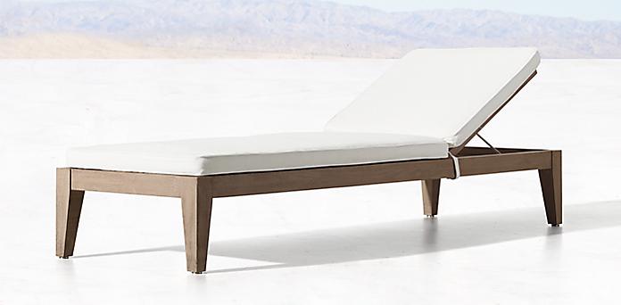 mustique teak collection - Chaise Table