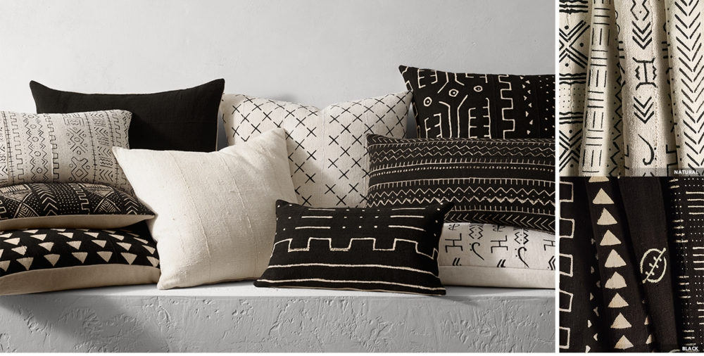Rh Modern Pillows : Black Throw Pillows For Sofa Black Throw Pillows For Less - TheSofa