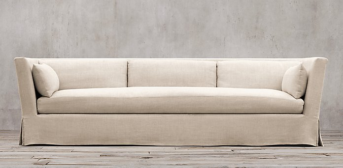 Sofa collections rh for Restoration hardware furniture manufacturer
