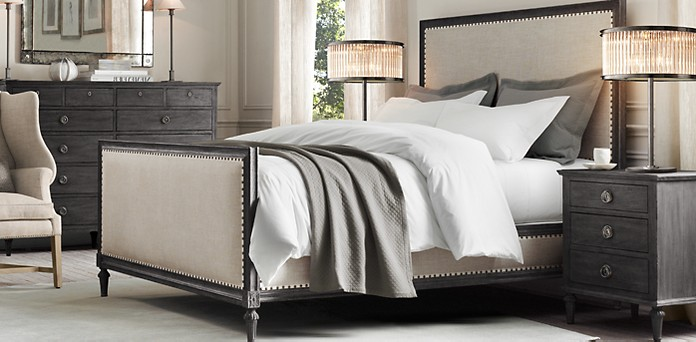 Maison Panel Bedroom Collection Antiqued Black Rh