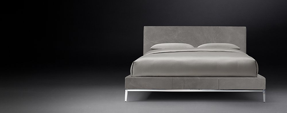 Upholstered Bed Collections Rh