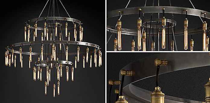 Chandelier Collections | RH