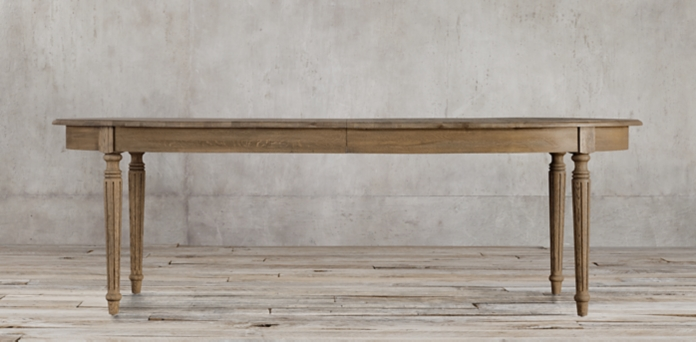Vintage French Fluted Leg Rectangular Table Restoration  : cat90009 s14wid696ampfmtjpegampqlt900ampopsharpen0ampresModesharpampopusm061 from www.restorationhardware.com size 696 x 342 jpeg 58kB