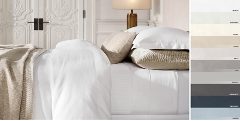 charming Restorationhardware Bedding Part - 7: Italian Vintage-Washed 600-Thread-Count Sateen Bedding Collection Free  Shipping