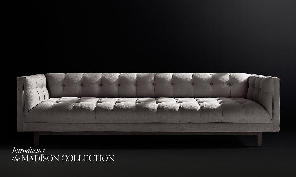 Madison Fabric Sofa Collection Rh
