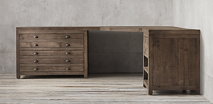 printmaker s modular collection antiqued pine rh