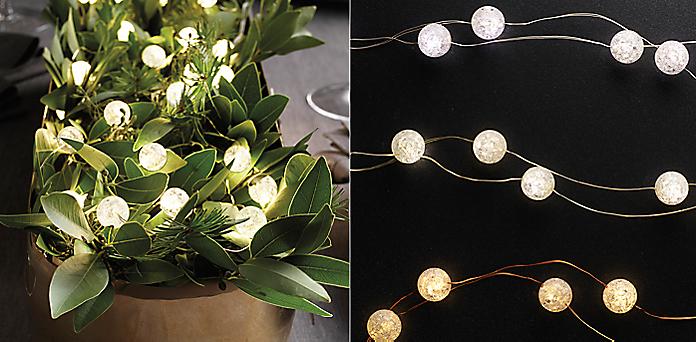 northern starlit string lights collection - Restoration Hardware Halloween