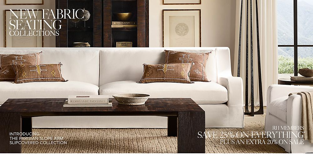 Shop New Fabric Seating