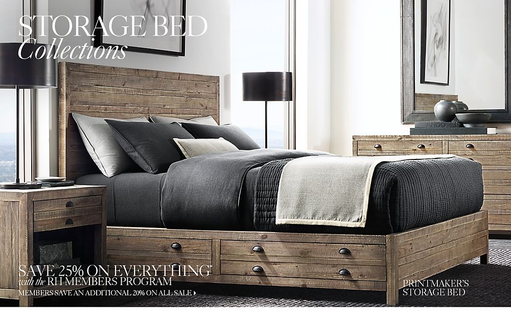 Storage Beds. All Storage Beds   RH