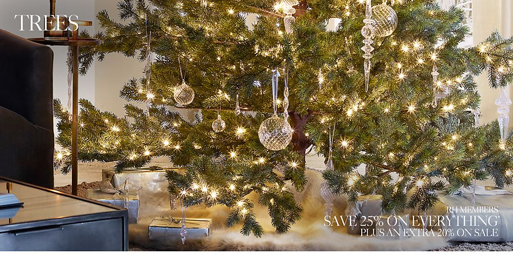 Sale. Shop Holiday Trees