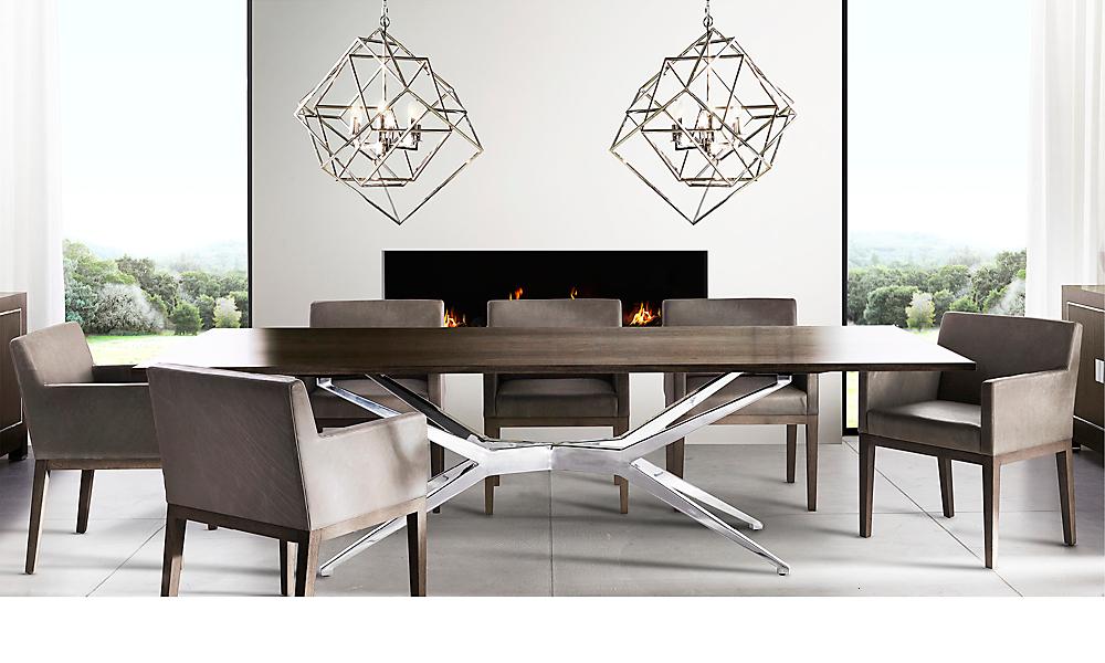 Rooms RH Modern - Rh modern dining table