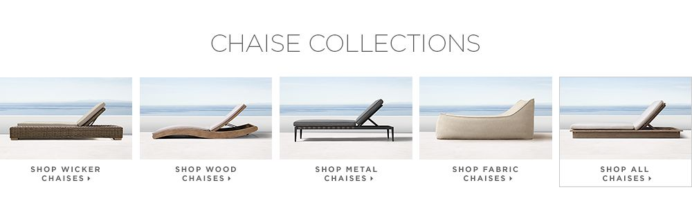 Shop All Chaises