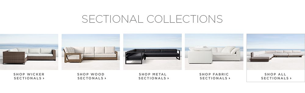 Shop All Sectionals