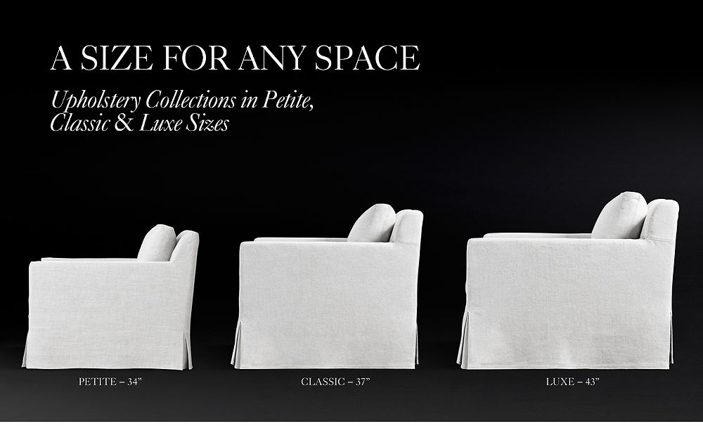 The Petite Collection:  Same Style. Smaller Scale.
