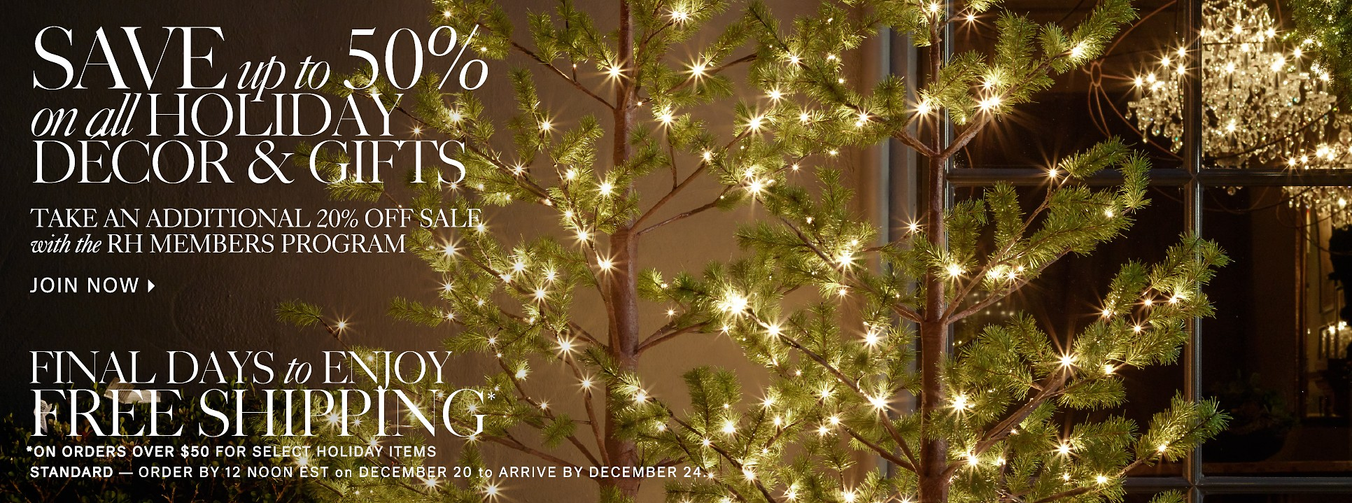Save on Holiday Gifts and Decor