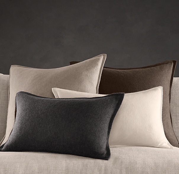 Restoration Hardware Pillows: Cashmere Pillow Cover