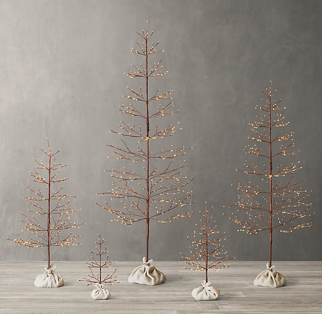 Restoration Hardware Christmas Decorations