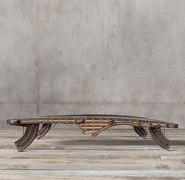 Indian Ox Cart Coffee Table 30