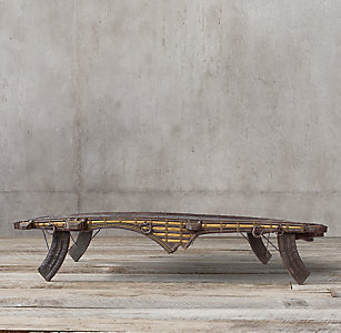 Indian Ox Cart Coffee Table 11