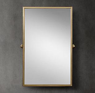 8 sizes  3 finishesAll Bath Mirrors   RH. Restoration Hardware Bathroom Mirrors. Home Design Ideas