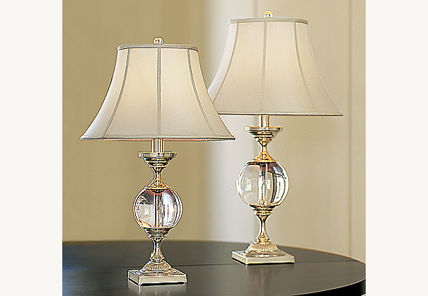 shown left to right large urn lamp and small urn lamp both with. Black Bedroom Furniture Sets. Home Design Ideas