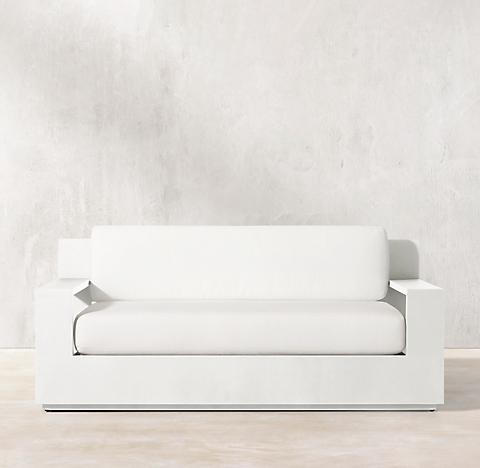 60 Marbella Aluminum Clic Sofa