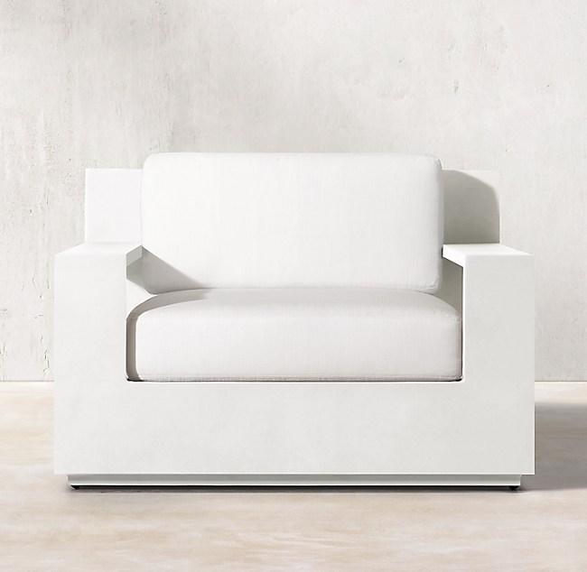 Marbella Aluminum Classic Lounge Chair