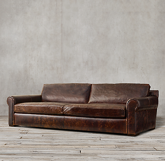 Lancaster Leather Sofa Color Preview Unavailable