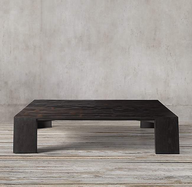 NEW Wyeth Split Bamboo Square Coffee Table. Coffee Tables   RH
