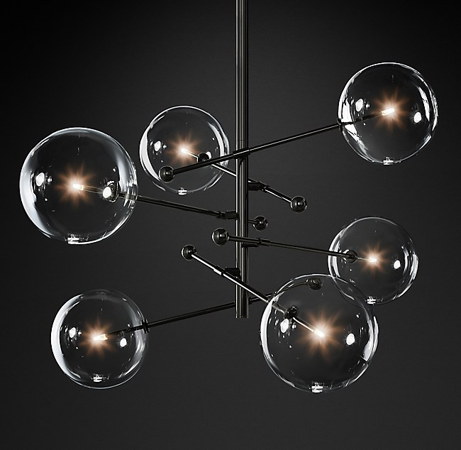 for crackled chrome product globe chandelier globes glass and