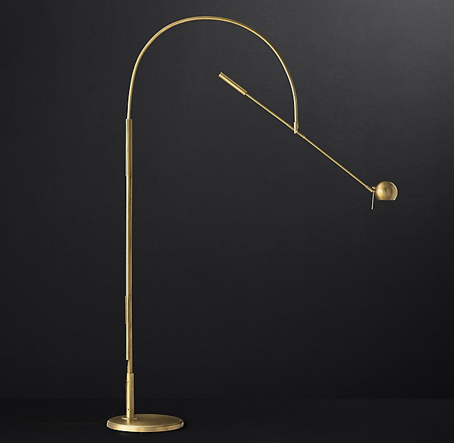 Orbiter ii grand floor lamp