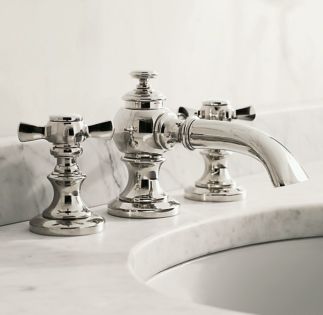 restoration hardware kitchen faucet restoration hardware lugarno 8 quot widespread faucet orb ebay 21523