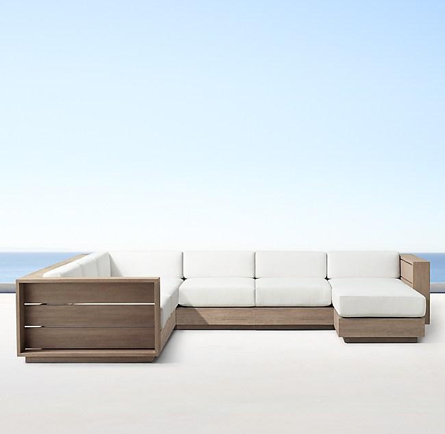 Modular U Sofa Chaise Sectional