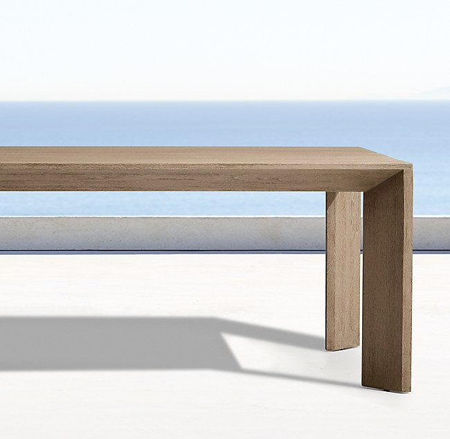 Arles Rectangular Outdoor Dining Table
