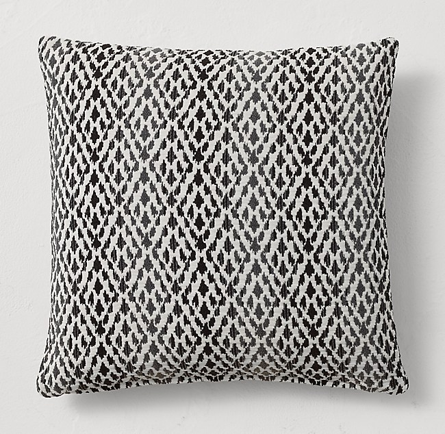 Bella-Dura® Cassis Tile Square Pillow Cover
