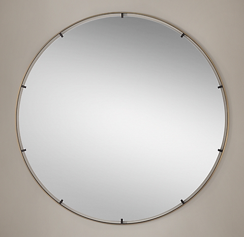 Niccolo Floating Round Mirror