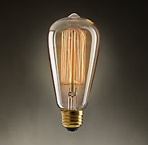 ST18 Squirrel Cage Filament Incandescent Bulb